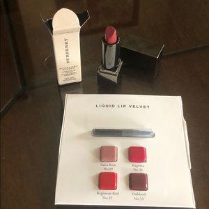 Burberry Kisses Mini Sepia No. 85 & Liq Lip Velvet